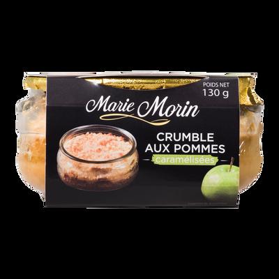 Crumble aux pommes caramélisées, MARIE MORIN, 130g