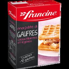 Francine Préparation Pour Pâte À Gaufres , 350g