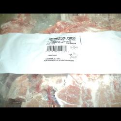 Chutes de côtes de porc Origine de la viande France JEAN FLOC'H, 1kg