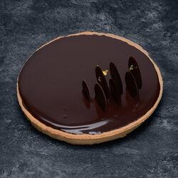 Tarte au chocolat, 6 parts, 695g