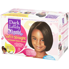 Kit défrisage Beautiful Beginnings cheveux normaux à épais DARK & LOVELY, 520ml