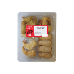 Assortiment asiatique, plateau de 340g