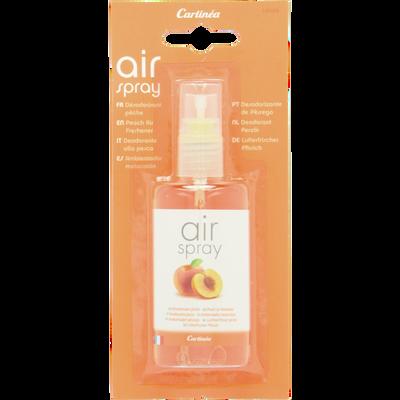 Spray de poche 75ml désodorisant parfum Pêche,pour voiture,bureau,maison