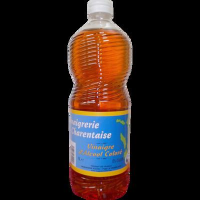 Vinaigre d'alcool coloré 6° biologique, CHARENTAISE, bouteille de 1litre