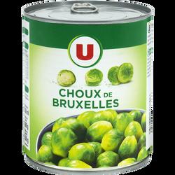 Choux de Bruxelles U 4/4 530g
