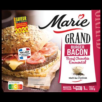 Marie Grand Burger Au Bacon Boeuf Charolais Et À L