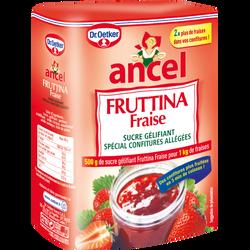 Sucre gélifiant à la fraise Fruttina DR OETKER ET ANCEL, paquet de 500g