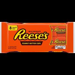 Cups peanut butter REESE'S, x8 soit 124g