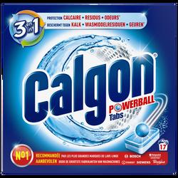 Nettoyant anti-calcaire 2 en 1 pour lave linge CALGON, 17 tabs, 221g