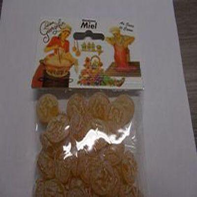 Bonbons Miel au sucre de canne sachet de 150 gr . Lucien Geogelin