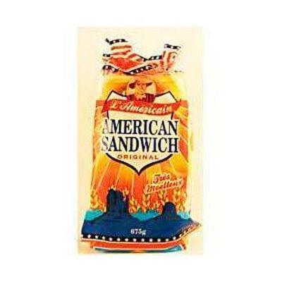 Pain de mie extra moelleux american sandwich original L AMÉRICAIN 675g