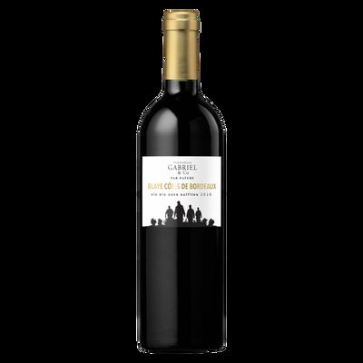 CLUB DES VINS & TERROIRS Blaye Côtes/Bordeaux AOP rouge Vignobles Gabriel&CO par Nature bio 2016, 75cl