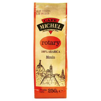 Café moulu rotary 100% arabica CAFE MICHEL, 250g