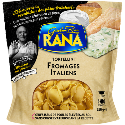 Tortellini aux fromages italiens RANA, 250g