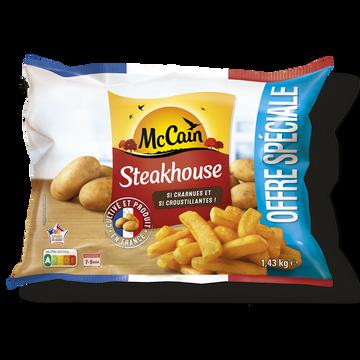 Mc Cain Just Au Four Steackhouse Mc Cain, Sachet De 625g