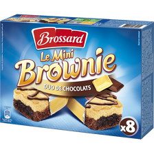 Mini brownie duo choco BROSSARD, 240g