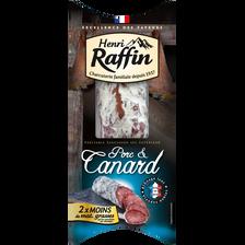 Henri Raffin Saucisson Sec Supérieur Au Canard  200g