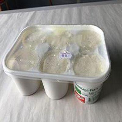 Fromage Frais lait entier 6X100g LES CHARMILLES
