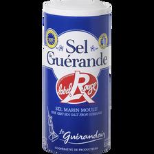 Sel fin moulu Label Rouge LE GUERANDAIS, boîte verseuse de 250g