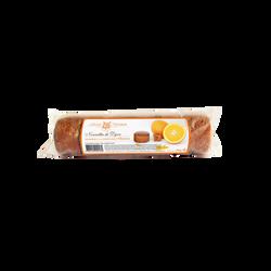 Rouleau de 6 nonnettes fourré à la confiture d'orange MULOT ET PETIT JEAN, 200g