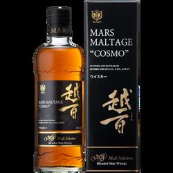Whisky Japonais cosmo MARS, 43°, bouteille de 70cl