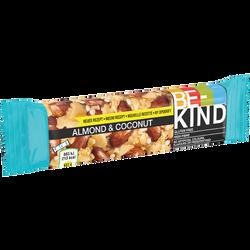 Barre aux amandes et noix de coco be-kind 40g