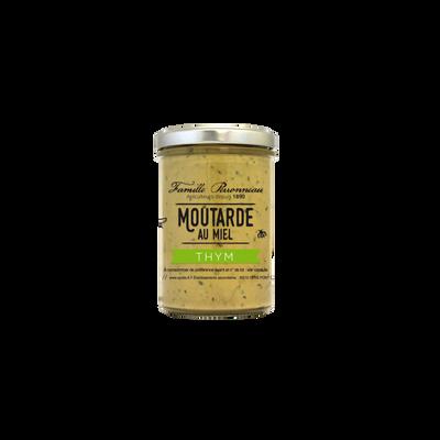 Moutarde au thym et au miel FAMILLE PERRONNEAU, 210g