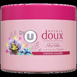 Masque capillaire pour cheveux colorés à la myrtille BY U, 300ml