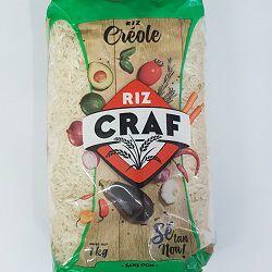 Riz créole, CRAF, le paquet de 1kg