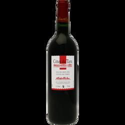 Vin rouge de pays Côtes du Tarn, 75cl