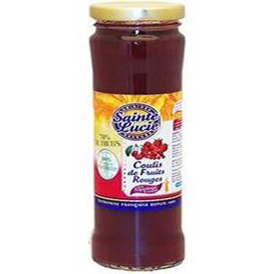 coulis 4 fruits rouges