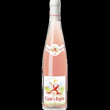 Vin De France Vin De France Rosé Cuisse De Bergère 5x75cl+1 Offerte