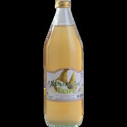 Pur Jus de poire de L'Orléannais POIRE D'OLIVET, bouteille en verre de1l