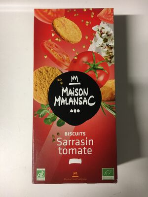 BISCUITS TOMATE 100G