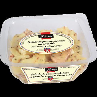 Salade de pommes de terre au véritable saucisson de Lyon RANDY, 300g300g En rayon Libre Service