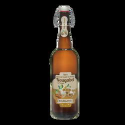Bière nougabel au nougat de Montelimar BOURGANEL, bouteille de 75cl
