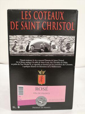 AOP Languedoc Saint Christol - Rosé - BIB 5L