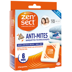 Anti-mites technologiques ZENSECT, x8