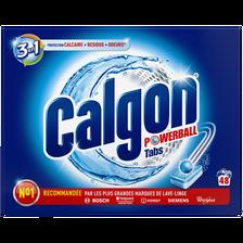 Pastilles anti calcaire 2 en 1 CALGON, 48 tabs, 624g