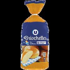 Briochettes U, 12 unités, 480g