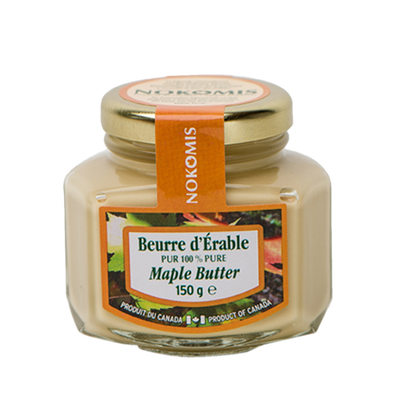 Beurre d'érable NOKOMIS, pot de 150g