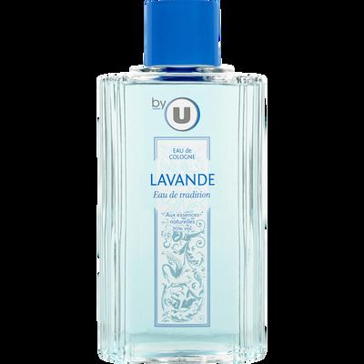 Eau de Cologne parfum lavande BY U, flacon de 500ml