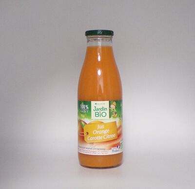 Jus Orange Carotte Citron