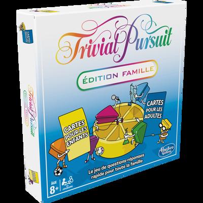 TRIVIAL PURSUIT FAMILLE HASBRO