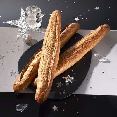 Baguette céréales, sélection U, 1 pièce, 280g