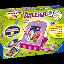 Ravensburger - Atelier numero d'art chevaux - Dès 7 ans