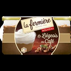 Liégeois au café LA FERMIERE, 2x130g