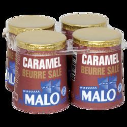 Emprésuré caramel beurre salé MALO, 4 pots de 125g