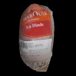 Roulé de dinde congelé NST MARQUIS DE FRANCE,sous vide 1kg