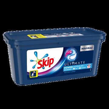 Skip Lessive 3en1 Active Clean Skip, X26 Soit 0,702kg